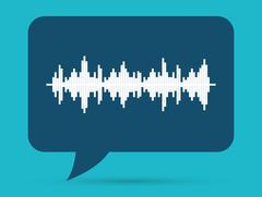 Sound of voice Stock Illustration