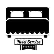 Hotel service icon Stock Illustration