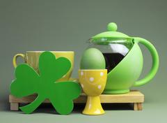 Happy St Patrick's Day celebrations Stock Photos