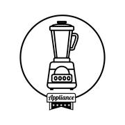 Home appliance icon - stock illustration