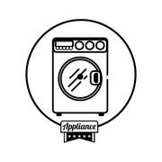 Home appliance icon Stock Illustration