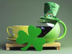 Happy St Patrick's Day celebrations - stock photo