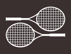Tennis Sport design Stock Illustration