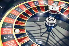 3D Rendering of roulette Stock Illustration