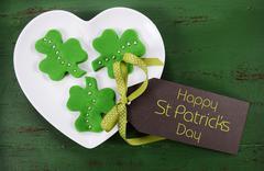 Happy St Patricks Day Food - stock photo