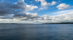 Kiel | Clouds and Ferries Stock Footage
