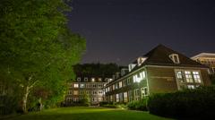 Kiel | Stars over Dormitory Stock Footage