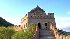 Mutianyu Great Wall of China Stock Footage