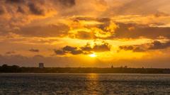 Kiel | Colorful Sunset @ Hasselfelde Stock Footage
