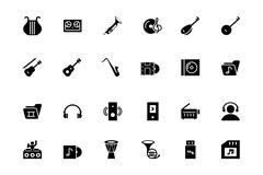Music Vector Icons Pack Piirros