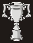 Cup award Stock Illustration