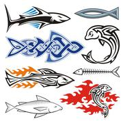Fish design Stock Illustration