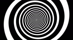 Hypnosis Spiral Stock Footage