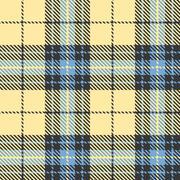 Tartan seamless pattern background, flat design Stock Illustration
