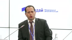 Evgeny Vinokurov, Centre for Integration Studies, Eurasian Development Bank Stock Footage