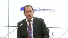 Evgeny Vinokurov, Centre for Integration Studies, Eurasian Development Bank - stock footage