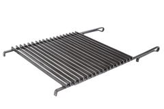 iron grid for barbecue isolated - stock photo