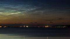 Kiel | Noctilucent Clouds - III Stock Footage