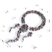 people sperm fertilization medicine 3d - stock illustration