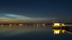 Kiel | Noctilucent Clouds - IV Stock Footage