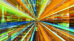 A maze of streaming light - Data Storm 0606 HD, 4K Stock Footage Stock Footage
