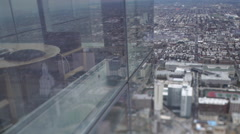 Philadelphia Downtown Slider Tilt Shift Stock Footage