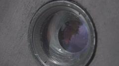 Slow Motion: Lens Iris Aperture Stock Footage
