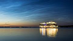 Kiel | Noctilucent Clouds - V Stock Footage