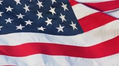 Large American (USA) Flag-Peekskill, NY-Circa June 2016 - stock footage