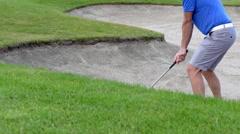 Golfing in Sweden Stock Footage