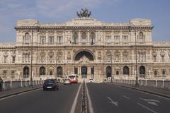ROME, ITALY - JANUARY 24, 2010: Palace of Justice - stock photo