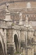 Pont Sant' Angelo - stock photo