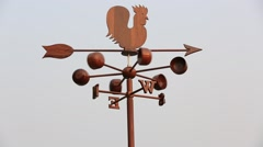 Chicken windchime Stock Footage