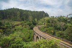 Nine arches bridge, Ella, Sri Lanka Stock Photos