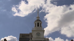 Independence Hall Time-Lapse Fast Stock Footage