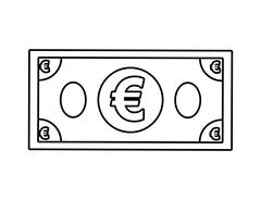 Bill  icon. Money and Financial item design. vector graphic - stock illustration