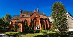 Chapel of Theological Faculty in Poznan, Poland Stock Photos