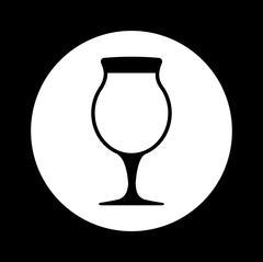Drinks icon design - stock illustration