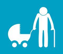 Family icon design Stock Illustration