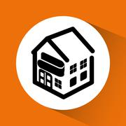 Home automation design Stock Illustration
