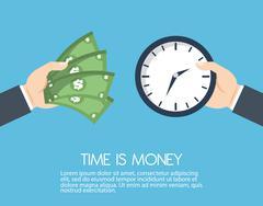 Money savings with bills design, vector illustration - stock illustration
