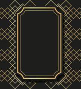 Flat illustration about gatsby background design - stock illustration