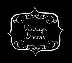 Vintage draw design. ornament icon. sketch concept - stock illustration