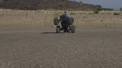 RC truck popping a wheelie in slow motion Stock Footage