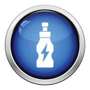 Energy drinks bottle icon Stock Illustration