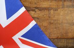 Great Britain UK Union Jack Flag Stock Photos