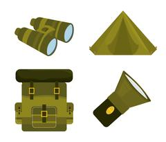 Army design illustration - stock illustration