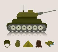 Army design illustration Piirros