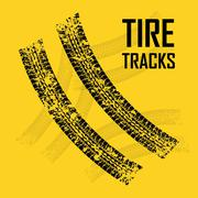 Tires design. illuistration Stock Illustration
