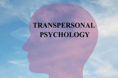 Transpersonal Psychology mental concept Stock Illustration